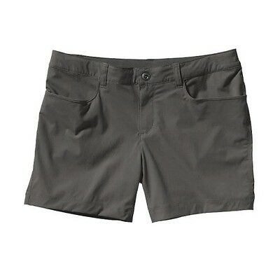 Patagonia Women's Quandary Shorts - 5 in. Forge Grey