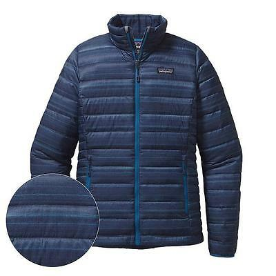 Patagonia Women's Down Insulated Sweater Jacket - Nambre: Navy Blue
