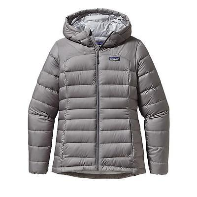 Patagonia Women's Hi-Loft Down Insulated Hoody Jacket - Feather Grey