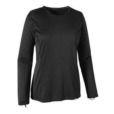 Patagonia Womens Capilene Mid-Weight Crew Baselayer - Black