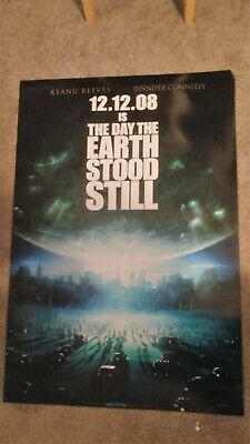 The Day the Earth Stood Still Original Movie Poster (2008) 27x40 DS