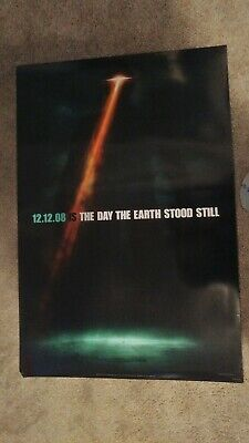The Day the Earth Stood Still Original Movie Poster (2008) 27x40 DS Coming Soon