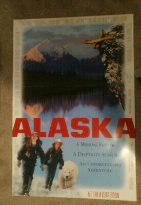 Alaska (1996) Original Movie Poster 27x40 Double Sided