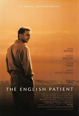 The English Patient (1996) Original Movie Poster 27x40 Ralph Fiennes