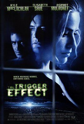 The Trigger Effect (1996) Original Movie Poster 27x40  Double Sided