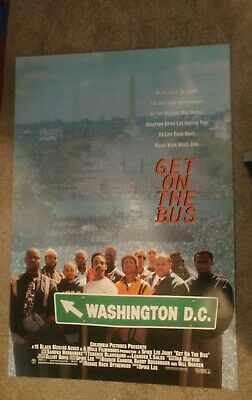 Get On The Bus (1996) Original Movie Poster 27x40 Double Sided Spike Lee