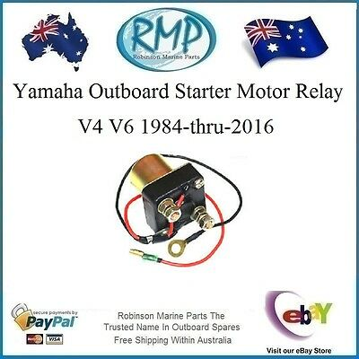A Brand New RMP Yamaha Outboard Starter Relay V4 V6 # R 6A1-81941-00