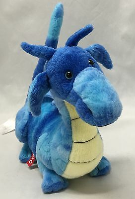 Plush Dragon Blue FAO Schwarz Mini Stuffed Animals