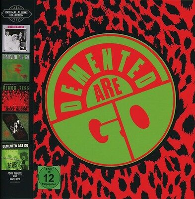 Demented Are Go - Original Albums Boxset