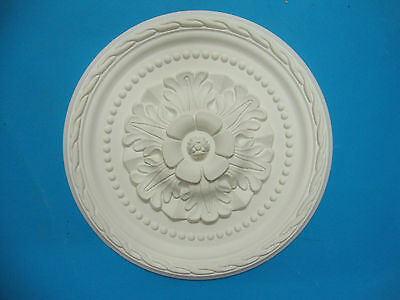 Ceiling Rose - Lightweight Resin (Not Polystyrene) - 'April' 30cm' Quality Rose