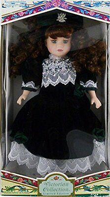Victorian Collection Genuine Porcelain Doll by Melissa Jane