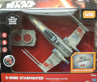 Star Wars X-Wing Starfighter Premium RC Radio Control Classic Edition BNIB