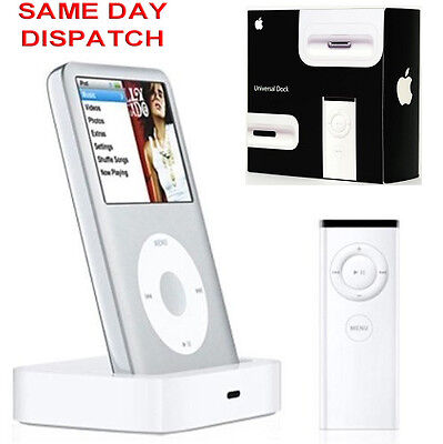Genuine Apple iPod Classic 80GB 120GB 160GB Docking Station charging sync dock