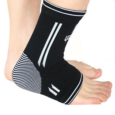 1PC Compression Elastic Ankle Support Brace Wrap Sleeve Sports Relief Pain Foot