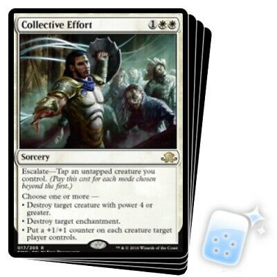 Collective Effort Magic Card MTG Eldritch Moon