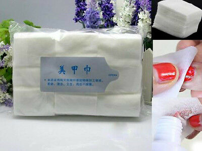900Pcs Cotton Wipes Pads For Nail Art Makeup Cleansing Polish Gel Tips Remover V