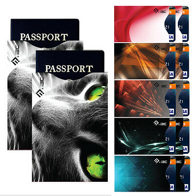 Anti-Theft RFID Blocking ID Credit Card & Passport Protector Safty Sleeves HOT