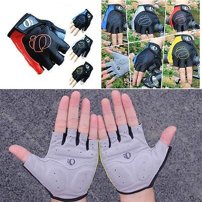 Nice Cycling Gloves Bicycle Bike Riding Motorcycle Sports Gel Half Finger Gloves