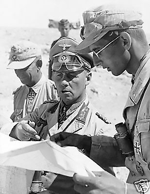1942 Photo Field Marshal Erwin Rommel, Commander German forces in North Africa