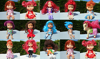 Lot de poupées charlotte aux fraises Doll Strawberry shortcake combine shipping