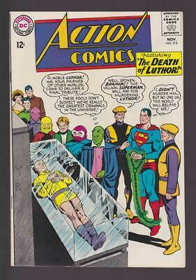 Action Comics # 318  The Death of Luthor !  grade 6.5 scarce book !!