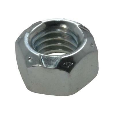 "Pack Size 5 Zinc Plated Conelock 1/4"" UNC Imperial Coarse Grade C Nut"