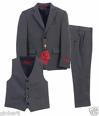 Gioberti 3 Piece Toddlers Kids Boys Formal Suit, Vest, Pants Set
