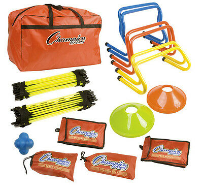 New Champion Sports Speed and Agility Training Kit