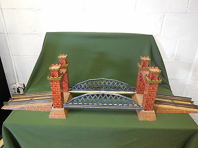 Bing, Early Hand painted Castle Bridge, Gauge 1