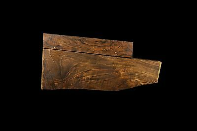 English Walnut Gun Stock Blank And For Arm Air Dry