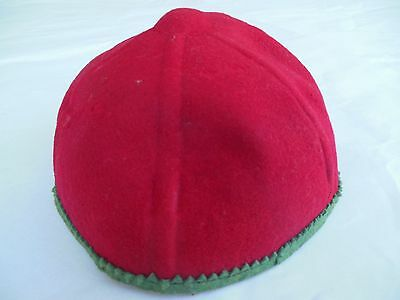 Vintage Red Children's Beanie Henry Pollak Glenover New York School Hat