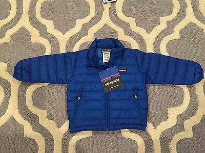 Brand New With Tags Patagonia Baby Down Sweater 12m Viking Blue (VIK)