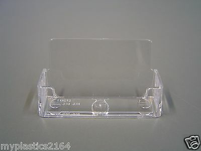 Clear Counter Top/Desktop Business Card Holder - Aussie Seller