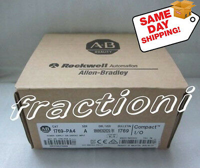 AB 1769-PA4 /A ( 1769PA4 ) PLC Power Supply  New In Box, Factory Sealed !