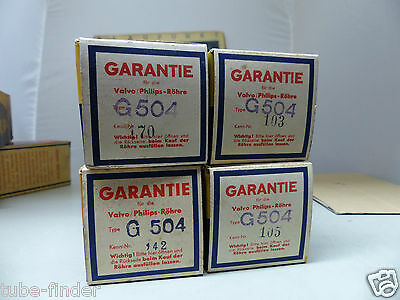 VALVO G-504 / RGN 504  in sealed BOX unused Tube Valvola Röhre