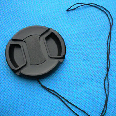 52/55/58/77mm Plastic Front Lens Cap Cover Snap-on For Canon Nikon Pentax Camera