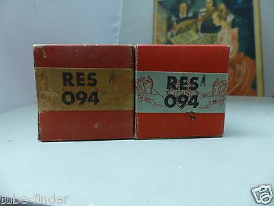 RES094  Telefunken  in sealed BOX unused Tube Valvola Röhre