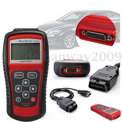 Car Diagnostic Tool MS509 OBD2 Auto Code Scanner Vehicle Engine Fault Reader