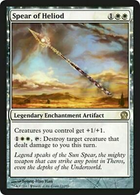 Spear of Heliod ~ Theros ~ NearMint/Excellent+ ~ Magic The Gathering