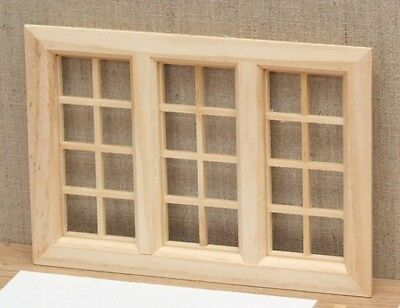 1:12 Dolls House Large cottage window
