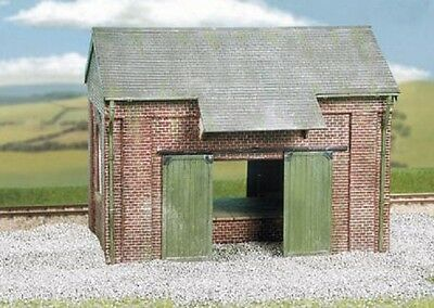 WILLS CK19 OO Scale Brick Goods Shed with Loading Dock