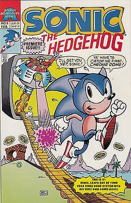 Sonic the Hedgehog #0 1st Sonic Archie series NM