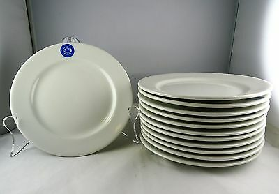 Twelve Shenango China Bread and Butter Plates Veterans Administration Crest