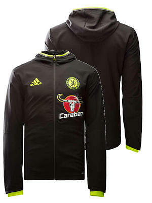 Presentation Chelsea London Fc Adidas Training Jacke Jacket 2016 17 Schwarz