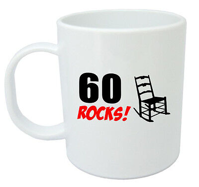 60 Rocks 60th Birthday Gift Mug Ideal Gifts For Year Old Men Or