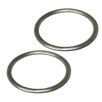 2 EXHAUST PIPE GASKETS Fits KAWASAKI VN1600 VULCAN 1600 MEAN STREAK 2004-2008