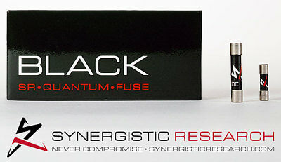 Synergistic Research Black SR Quantum Reference Fuse 20 x 5mm T10.0A
