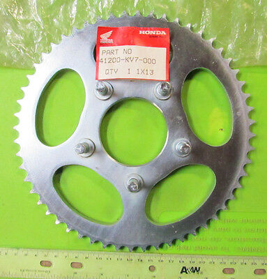 1987 Honda CH150 CH 150 Elite 56 Tooth Sprocket OEM p/n 41200-KV7-000