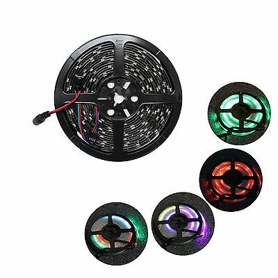 Dream Magic 6803 IC Black PCB LED 5050 5M 150LED RGB Strip Light Waterproof 12V