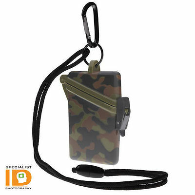 Witz Surf Safe Camo Waterproof ID Badge Holder - Camouflage Dry Card Case 20105